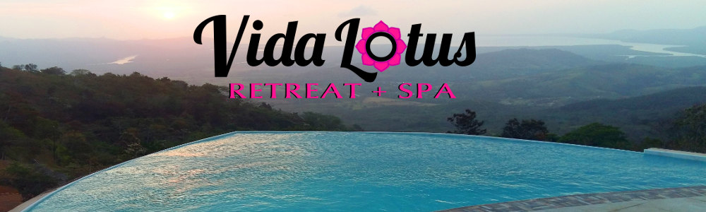 Vida Lotus Retreat and Spa - A turquoise infinity pool overlooking the pacific ocean