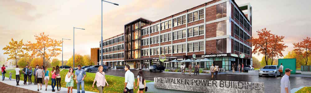 Walker Power Building in Olde Walkerville, Windsor, Ontario