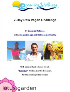 7-day raw vegan challenge