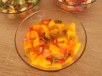 Raw Vegan Mango Ceviche with Aloe Vera